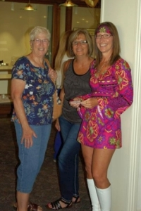 Charlotte, Kim & Laura during our 50th Anniversary Celebration at Eichhorn Jewelry